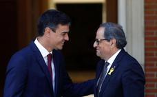 Sánchez advierte a Torra de que sus ánimos a los CDR ponen en peligro la normalización política