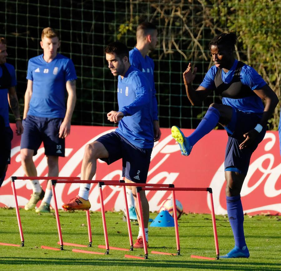 Entrenamiento del Real Oviedo (2-10)