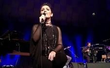 La cantante portuguesa Ana Lains da un recital este sábado en el Piedras Blancas