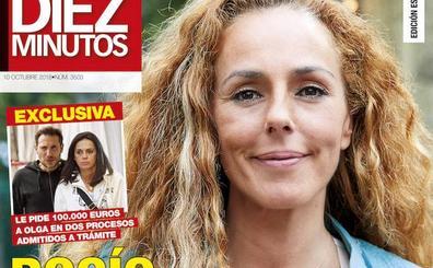 Rocío Carrasco demanda a la mujer de Antonio David y le exige 100.000 euros