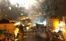Archivada la vía penal por la explosión de pirotecnia en Cangas del Narcea