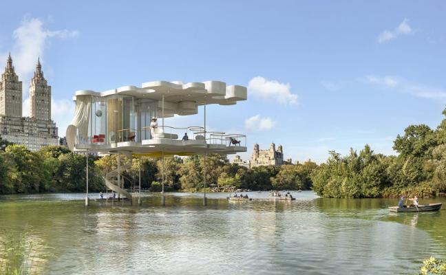 Dionisio González, arquitecturas ideales