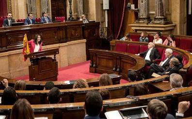 Ciudadanos dice que los CDR no podrán con la bandera española