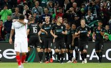 El Sevilla se estrella en Krasnodar