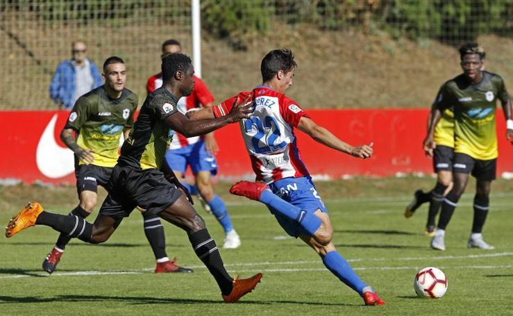 Sporting 2-0 Langreo