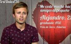 First Dates: un asturiano, virgen a los 25, confiesa sus gustos sexuales