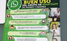 Las diez cosas que los profesores asturianos piden a los padres para actuar bien en los grupos de Whatsapp