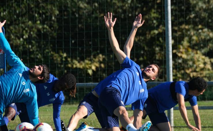 Entrenamiento del Real Oviedo (05-10-2018)