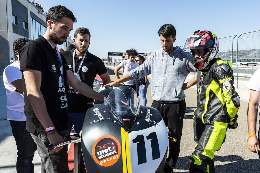 La moto asturiana toca pista con éxito