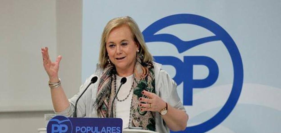 Mercedes Fernández llama a la «revolución del sentido común para desalojar al PSOE» del Gobierno