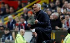 Mourinho remonta a su destino