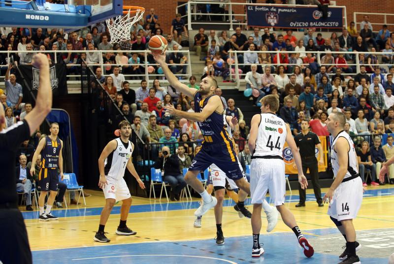 Liberbank Oviedo 77 - 82 Bilbao Basket, en imágenes