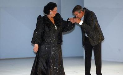 El paso por Asturias de la gran diva Montserrat Caballé
