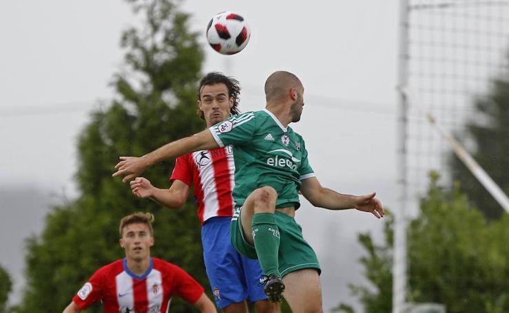 Las imágenes del Sporting B - Arenas