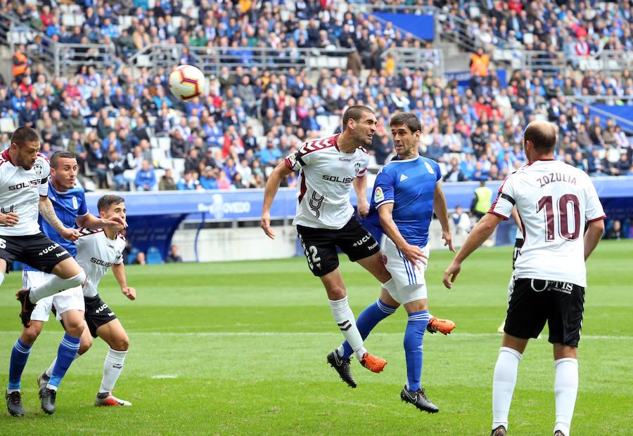 Real Oviedo 1 - 0 Albacete, en imágenes