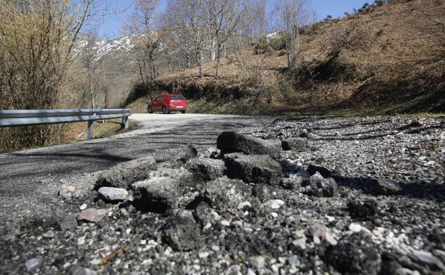 La obra de la carretera de Infiesto a Caso restringirá el tráfico más de dos años