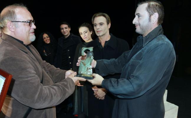 Atalaya Teatro de Sevilla recoge el premio Serondaya