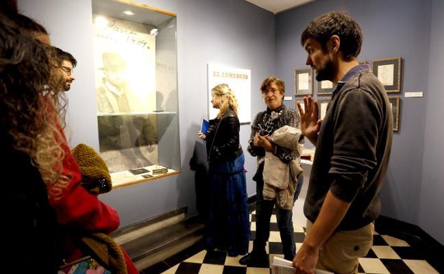 Aprendices de cronistas en el Museo Evaristo Valle