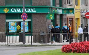 Detenido tras un intento de atraco en una oficina bancaria de Avilés