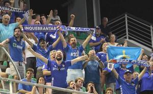 El Oviedo recibirá 3.500 entradas para el duelo de este domingo en el Wanda Metropolitano