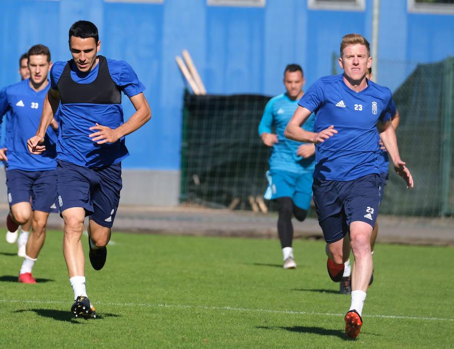Entrenamiento del Real Oviedo (08/10/18)