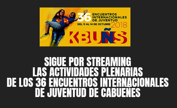 KBUÑS cuenta con varias sesiones plenarias que serán retransmitidas en streaming
