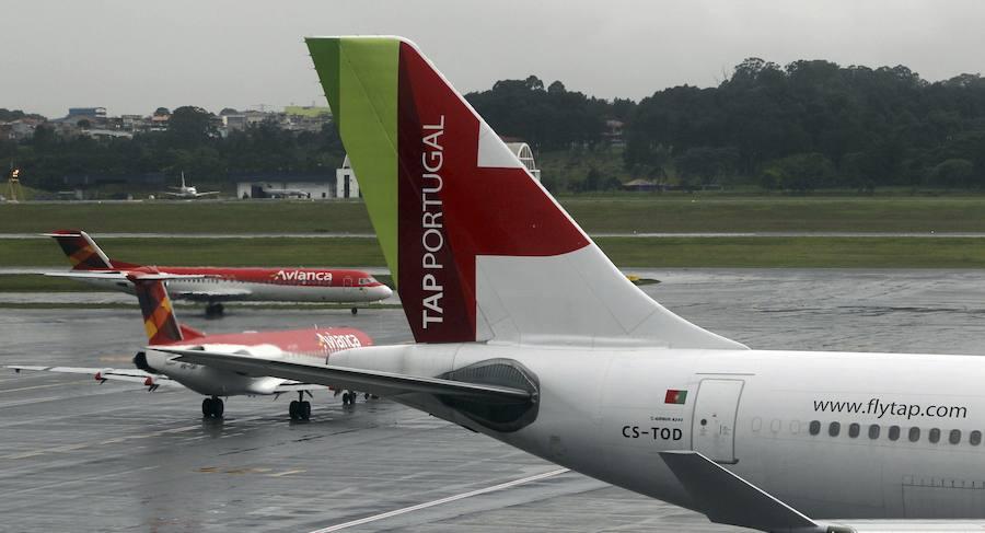 TAP suspende la ruta con Lisboa, la última conexión internacional de Asturias