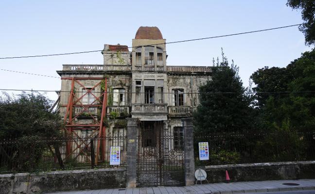 La casona de La Concepción, en obras para su transformación en un hotel