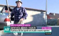 El patriarca del clan de los Charlines recibe a palos a 'El programa de Ana Rosa'