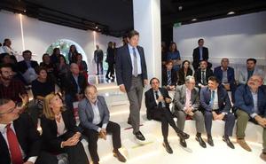 Javier Fernández ve «francamente bien» la alianza empresarial del Noroeste