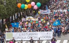Podemos e IU impulsan la reforma del Estatuto para declarar la oficialidad del asturiano
