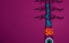 Una torreta eléctrica de La Camocha inspira el cartel del FICX 2018