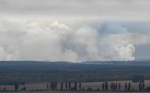 Una explosión en un arsenal militar ucraniano provoca la evacuación de 10.000 personas