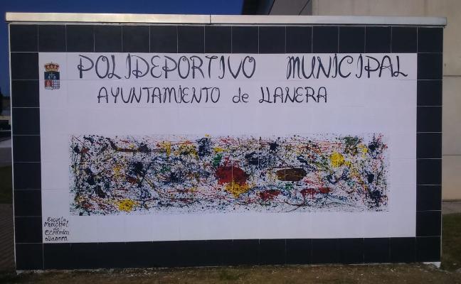 Mural de la Escuela Municipal de Cerámica