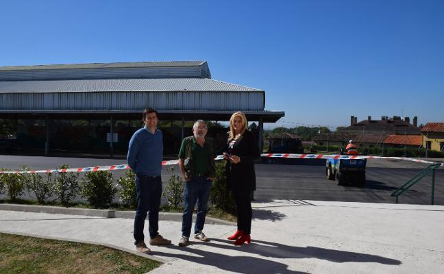 Los colegios Celestino Montoto y Hermanos Arregui renuevan sus pistas polideportivas