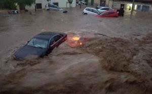 Espectaculares imágenes de la tormenta en Mallorca