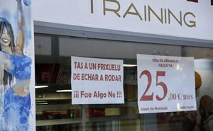 La divertida campaña de un gimnasio de Gijón: «Tas a un frixuelu de echar a rodar»