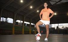 Rodiles FS | Romina: «Los objetivos que me pongo en el Rodiles son colectivos»