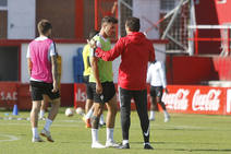 Entrenamiento del Sporting (10-10)