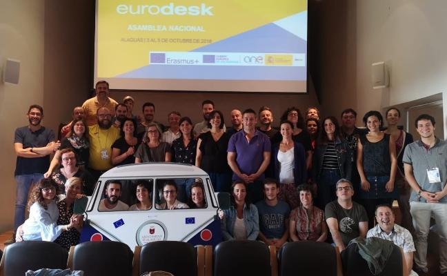 La Oficina Joven participa en la Asamblea Nacional Eurodesk en Valencia