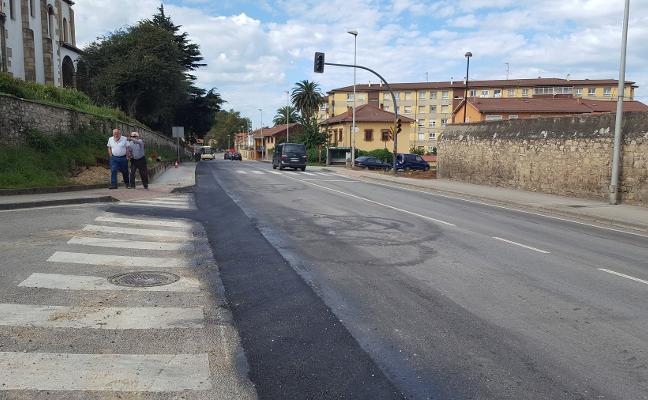 Finalizan las obras de asfaltado de la carretera de Trasona