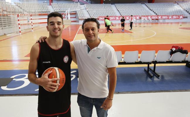 Álex Rubiera y Rubén Suárez, juntos doce años después
