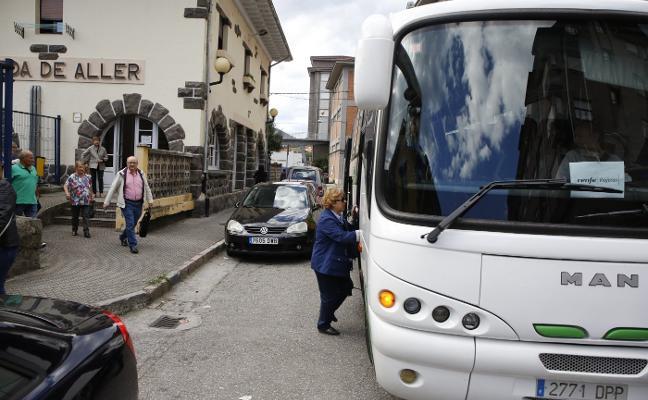 Una nueva avería deja sin tren a todo el concejo de Aller desde Moreda