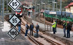 Fallece un joven arrollado por un tren en Ujo