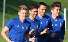 Entrenamiento del Real Oviedo (11-10-18)