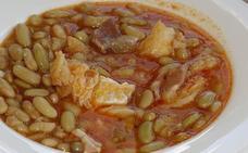 Verdinas con jamón y bacalao