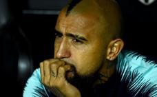 Vidal: «Estoy feliz en Barcelona»