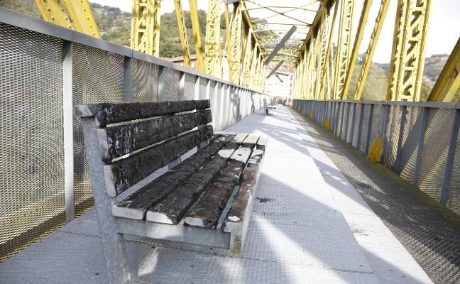 Preocupación por el abandono del puente de Los Gallegos de Sotrondio
