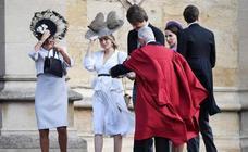La boda de Eugenia de York y Jack Brooksbank: tocados volando y faldas a lo loco