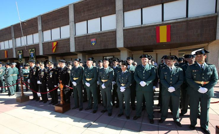 El Cuartel de Rubín celebra el día del Pilar, patrona de la Guardia Civil
